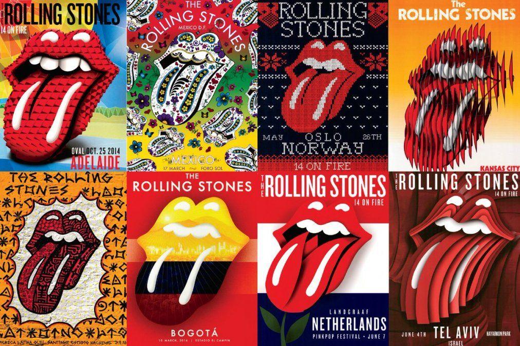 Cómo se creó la mítica lengua de los Rolling Stones
