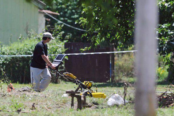 En el primer día de rastrillaje, las autoridades no encontraron los restos de Jorge Julio López