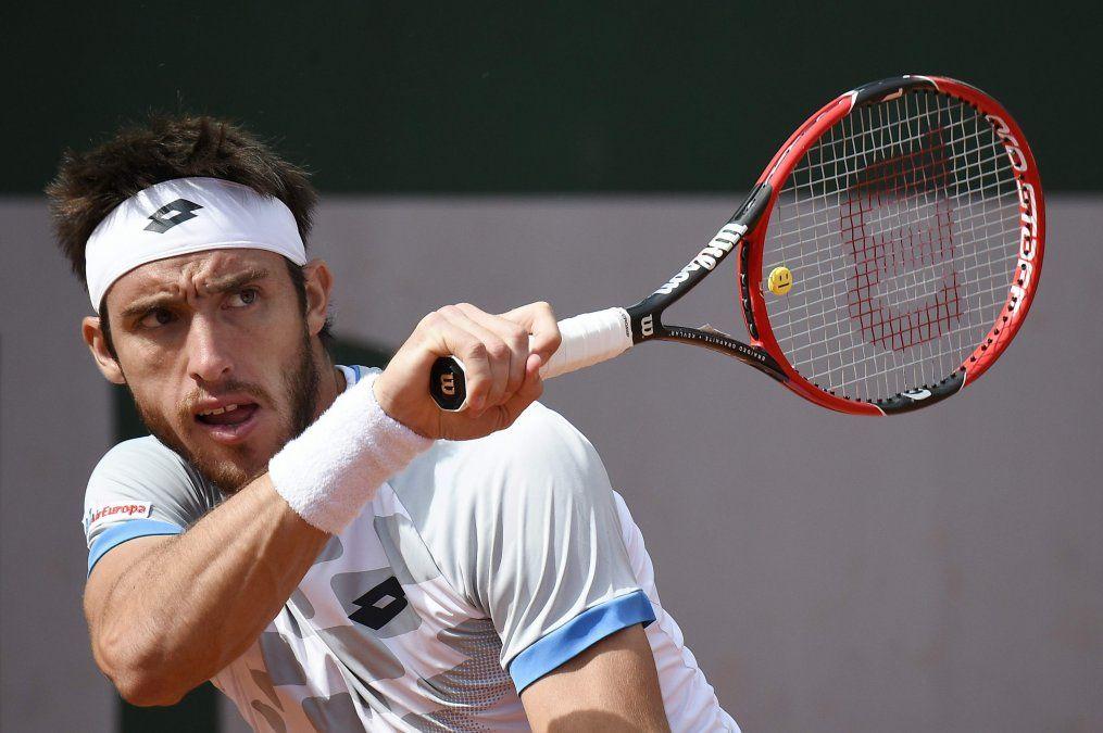 Leonardo Mayer no pudo con Marin Cilic y Roland Garros se quedó sin argentinos