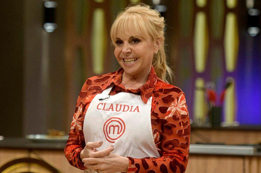 Claudia Villafañe en Masterchef.