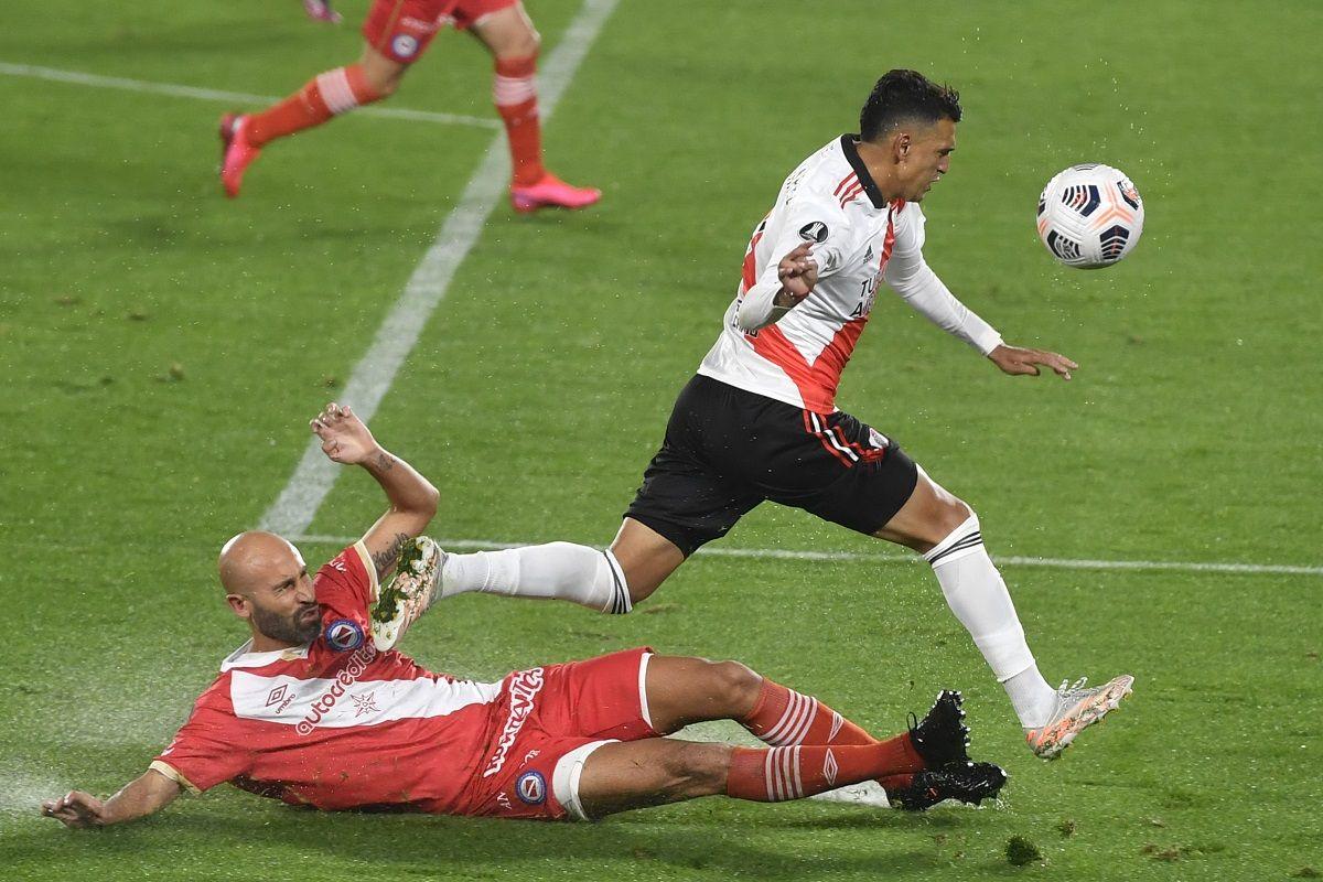 River empató con Argentinos Juniors.