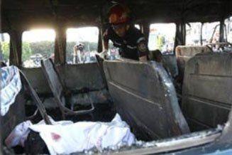Guatemala: una bomba en un ómnibus causó cinco muertos