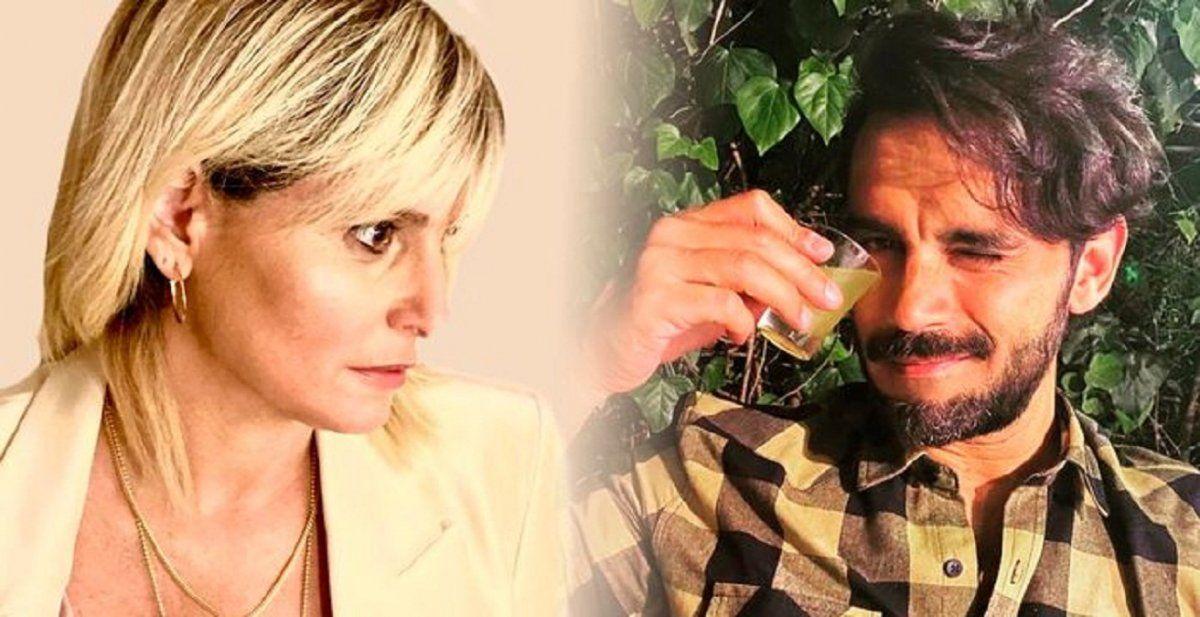 El impensado cruce entre Romina Manguel y Gonzalo Heredia