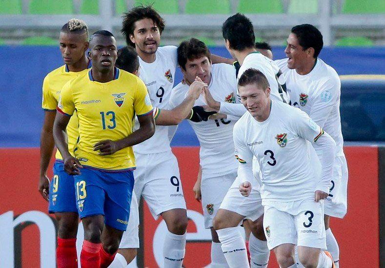 Bolivia le ganó ajustadamente a Ecuador y sueña con la clasificación