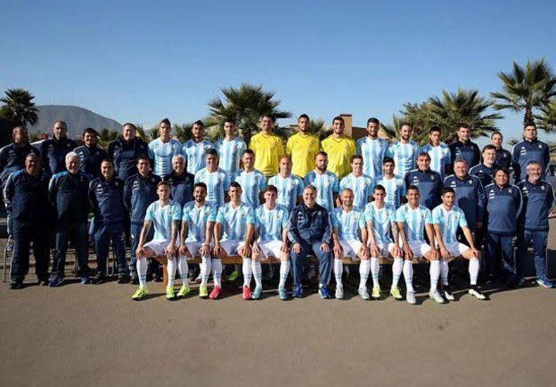 La Selección tiene su foto oficial y Messi dejó un mensaje en Facebook