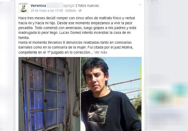 El calvario de una víctima de violencia: la denuncia contra su ex fue viral en Facebook pero la Justicia no le da respuestas