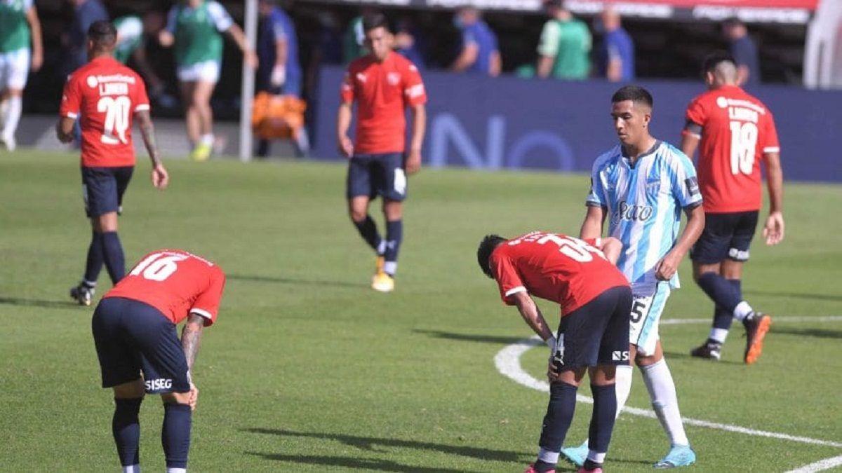 Independiente perdió con Atlético Tucumán: Horrible jugamos