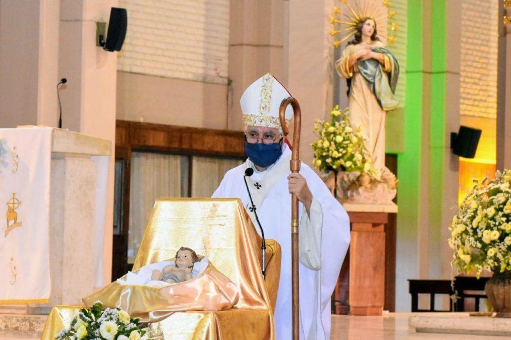 Misa de Navidad: Monseñor apuntó contra la ley del aborto