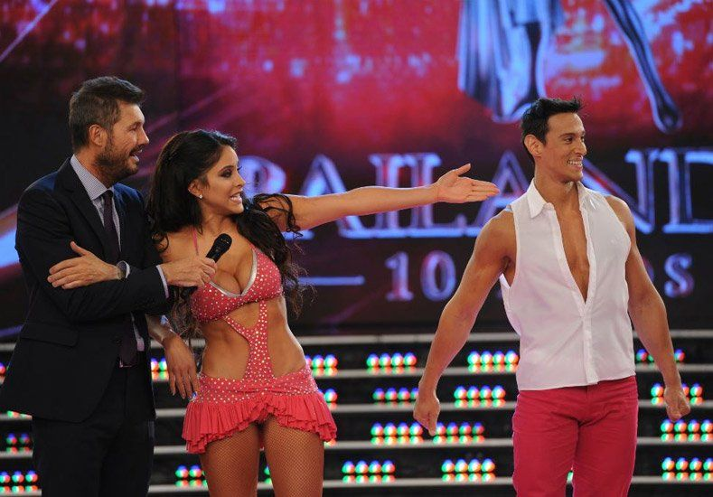 #Bailando2015: Celeste muriega dio clases de cumbia