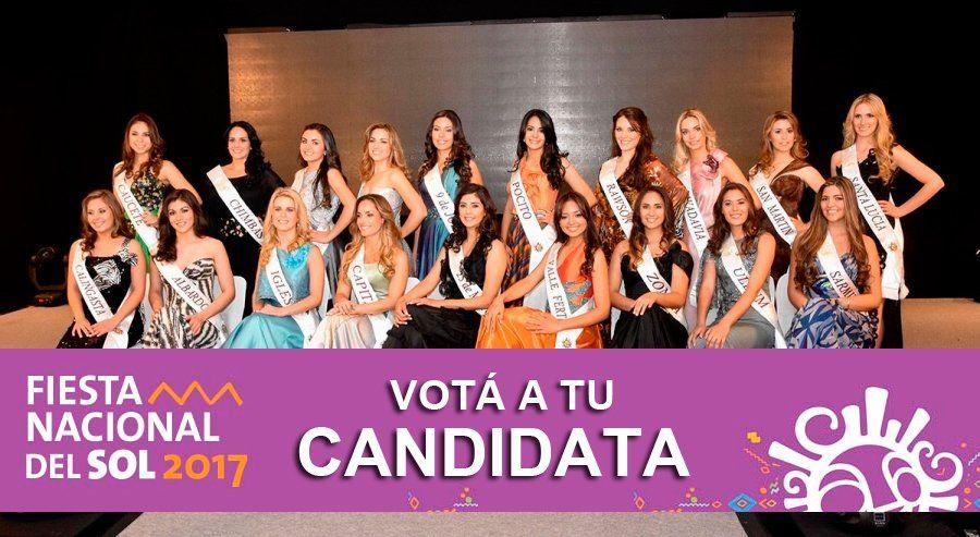 FNS 2017: Ya podés votar a tu Reina del Sol favorita a través de sanjuan8.com