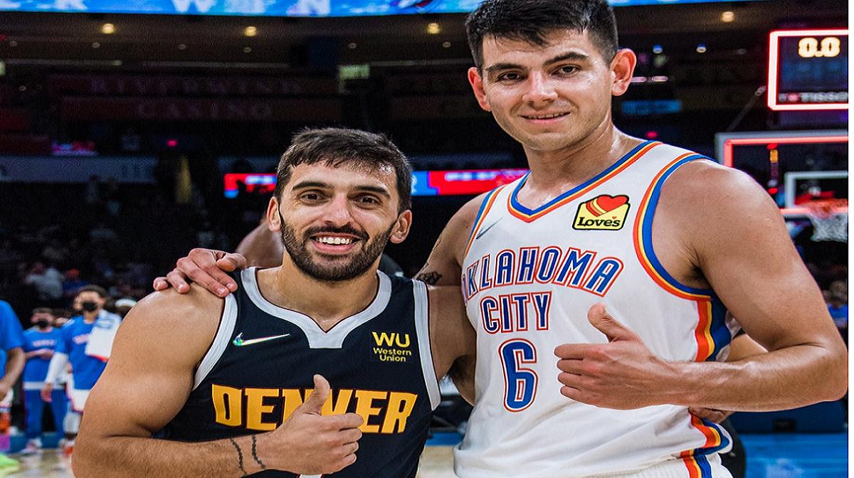 Deck le ganó a Campazzo el duelo argento de la NBA