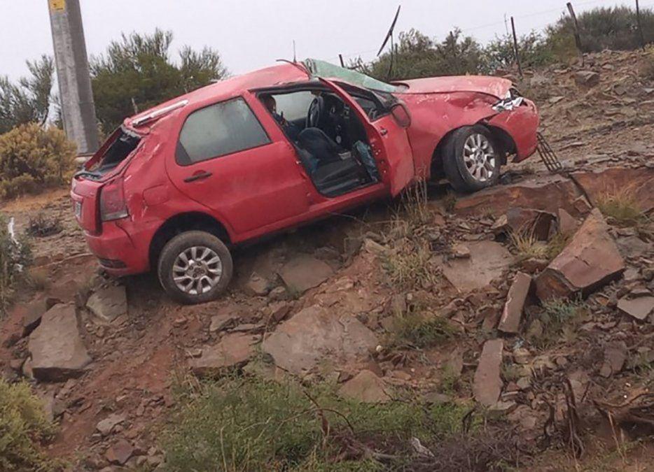 Accidente en Valle Fértil.