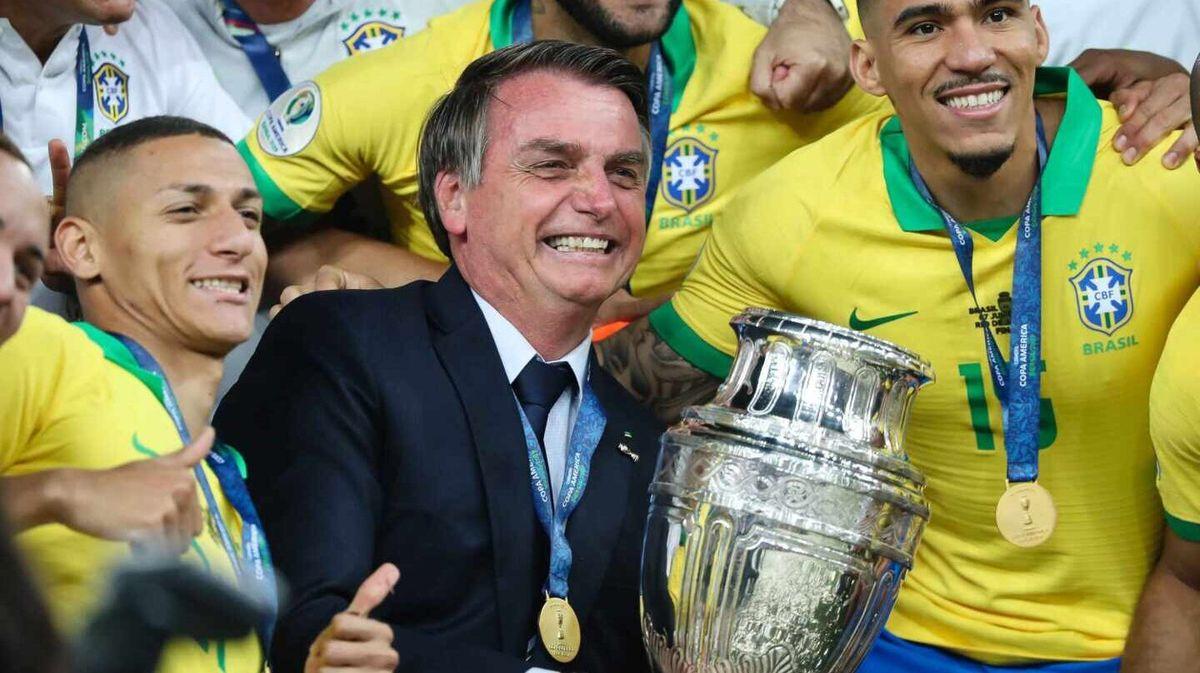 Bolsonaro dijo que Brasil le ganará 5 a 0 a Argentina