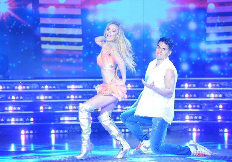 Gisela Bernal bailó al ritmo de cumbia pero no convenció al jurado