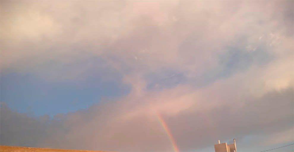 ¿Viste el arcoíris? San Juan amaneció con una vista multicolor
