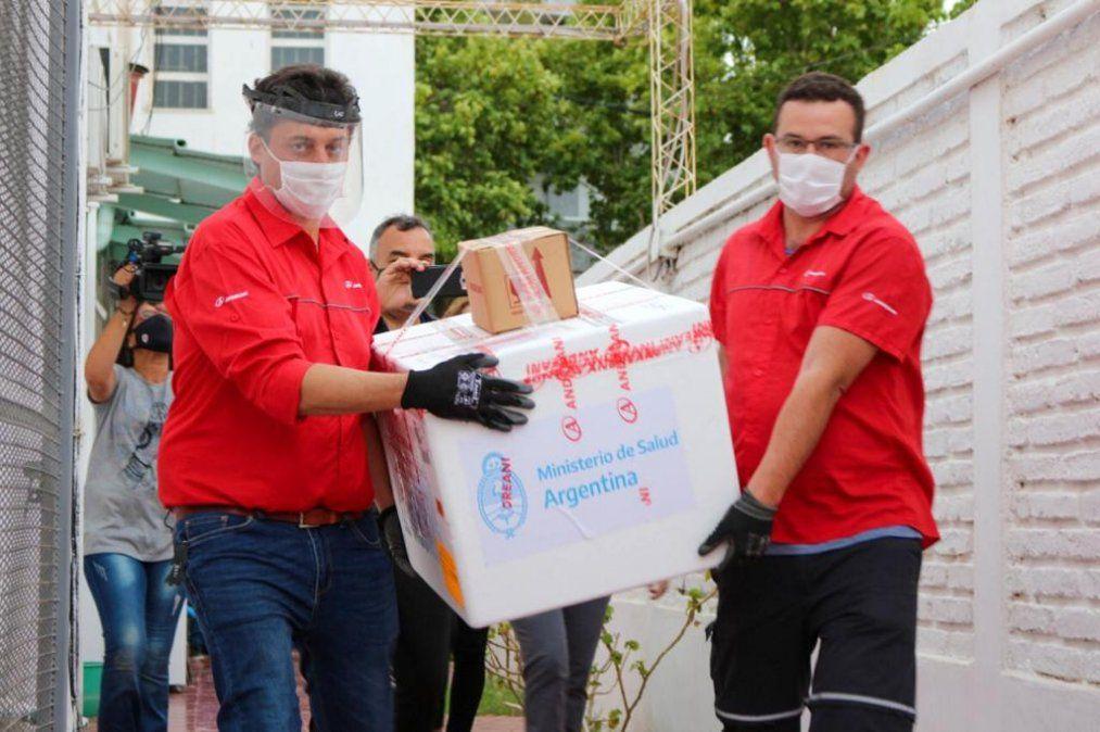 Vacuna Sputnik V: San Juan recibió la segunda tanda de dosis