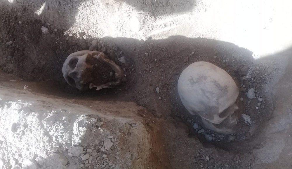 Restos óseos hallados en Jáchal: creen que allí estuvo el primer cementerio de San José