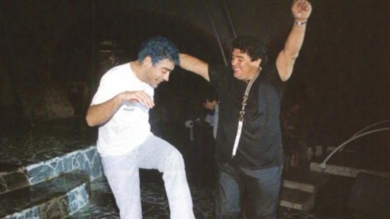 La ex de Rodrigo habló sobre la relación del cantante con Maradona