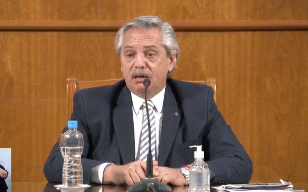 Alberto Fernández abre el periodo de sesiones ordinarias en el Congreso