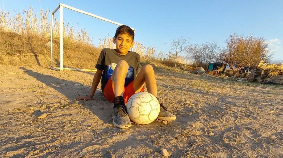 Benjamín, el nene de 12 años que quedó preseleccionado para River
