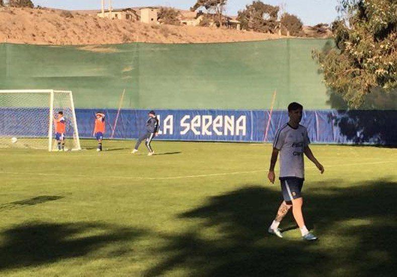 Respira Martino: Messi entrenó por primera vez con la Selección