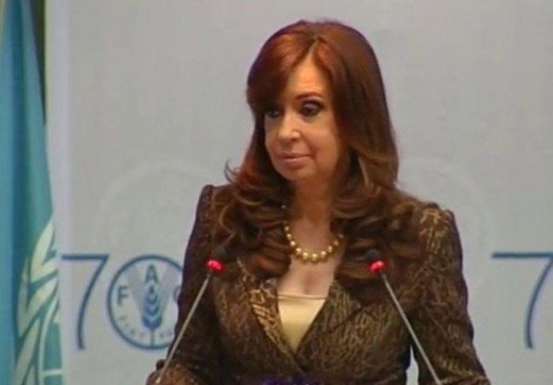 Cristina aseguró que la pobreza en Argentina es menor al 5% y la indigencia del 1,7%