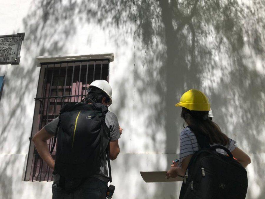 Arquitectos en la Casa de Sarmiento