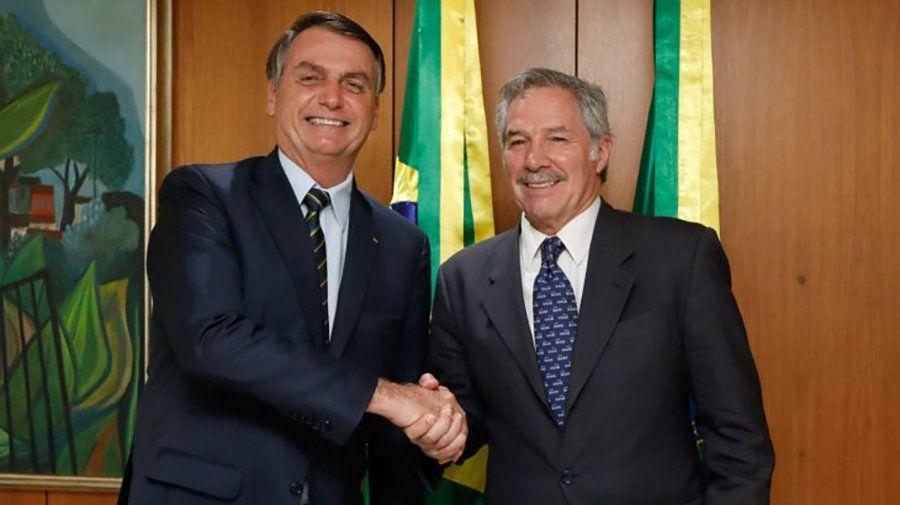 Bolsonaro propuso a Fernández reunirse el 1 de marzo en Uruguay