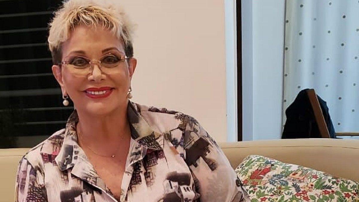 Carmen Barbieri fue dada de alta luego de dos días de internación