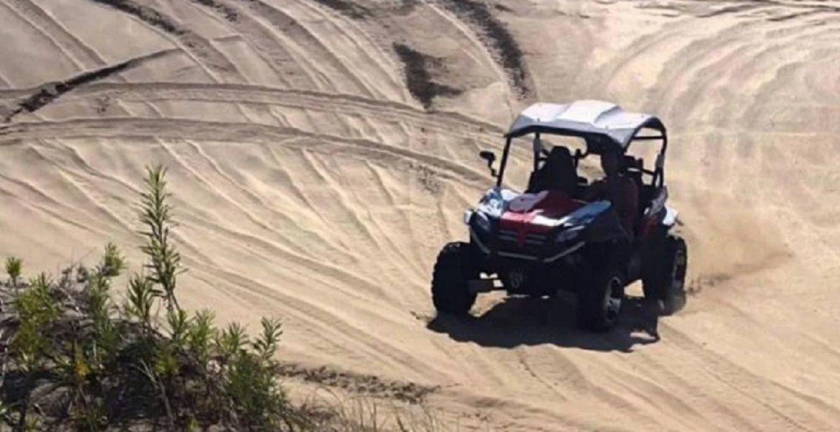 Murió un turista embestido por un vehículo todoterreno en Cariló