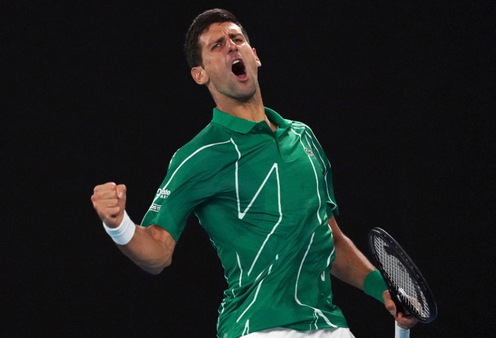 Djokovic eliminó a Federer y puede ser N°1 del mundo en Australia