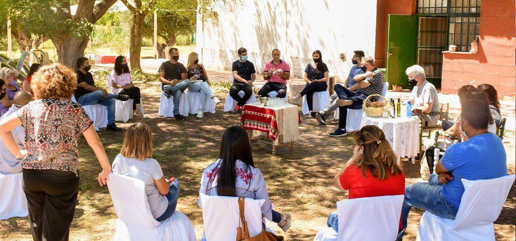 El encuentro se desarrolló este sábado en el departamento San Martín.