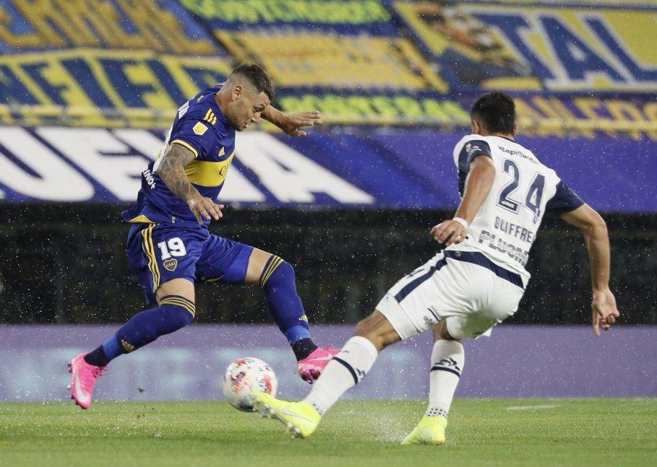 Boca rescató un empate ante Gimnasia gracias a Cardona
