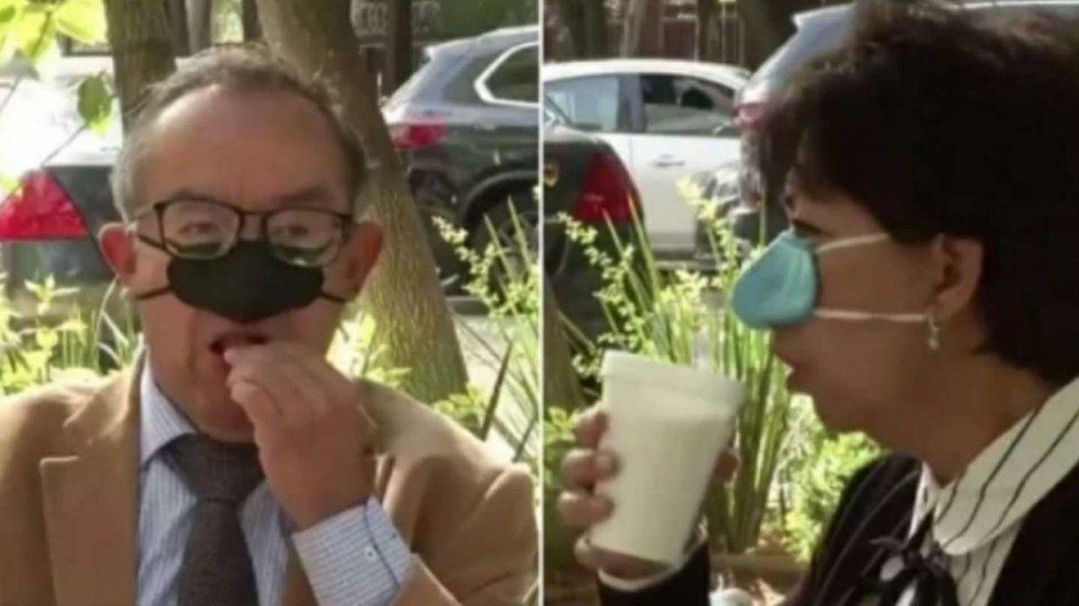 Crean un tapanariz para usar al comer o tomar alguna bebida