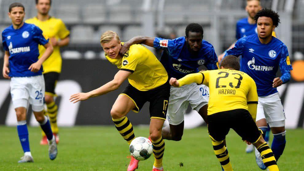 Volvió el fútbol: Dortmund y Schalke consiguieron un rating 10 veces mayor al habitual