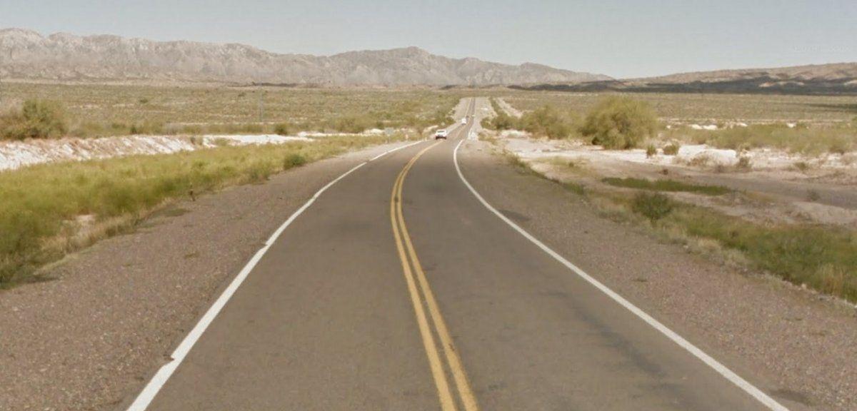 La Ruta 40 fue el escenario del siniestro.