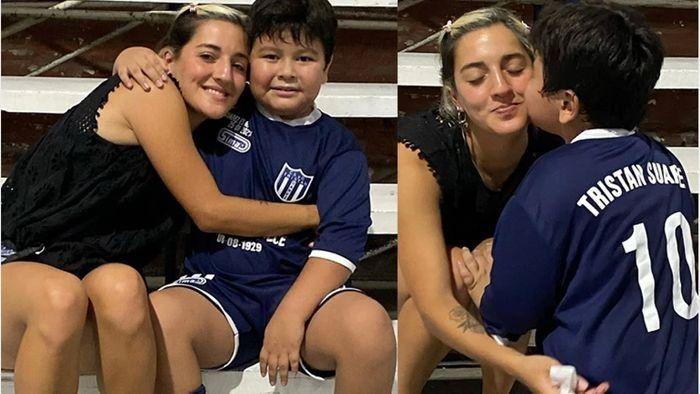 Jana se reencontró con Dieguito Fernando