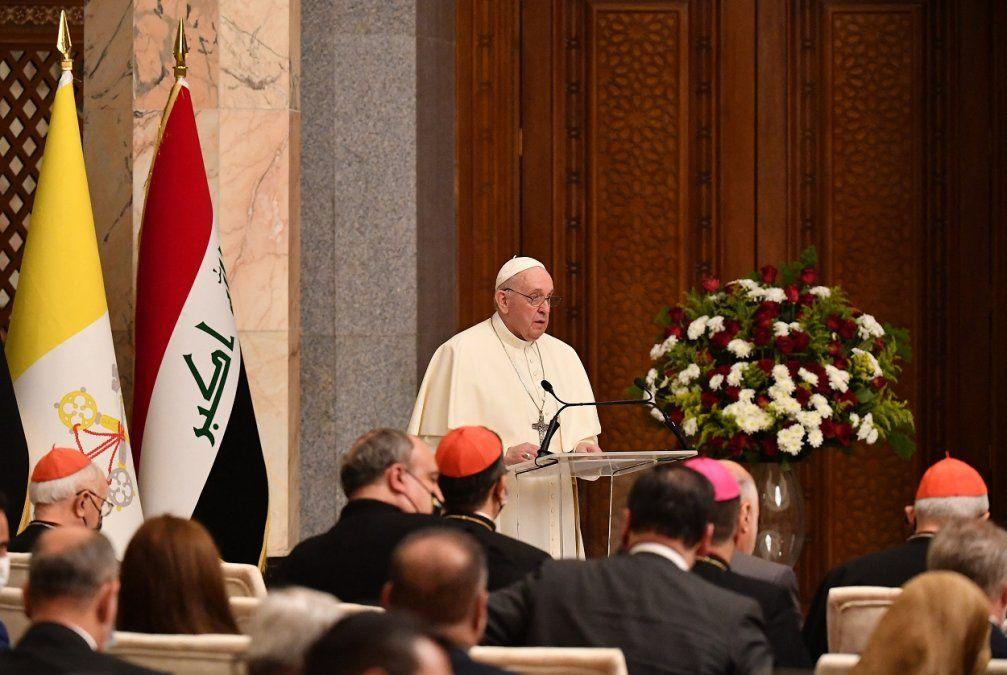 El Papa rechazó que los países extranjeros impongan sus intereses políticosen Irak
