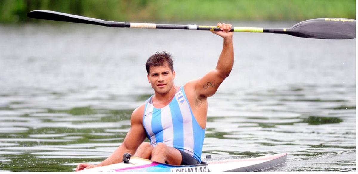 Rubén Rézola pasó a las semis de la prueba K1 200 metros