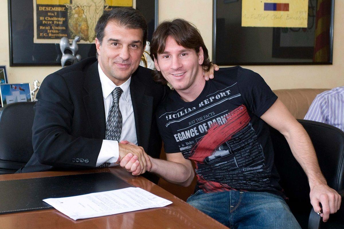 Lionel Messi dejará el Barcelona después de 16 años. Fuente: Télam