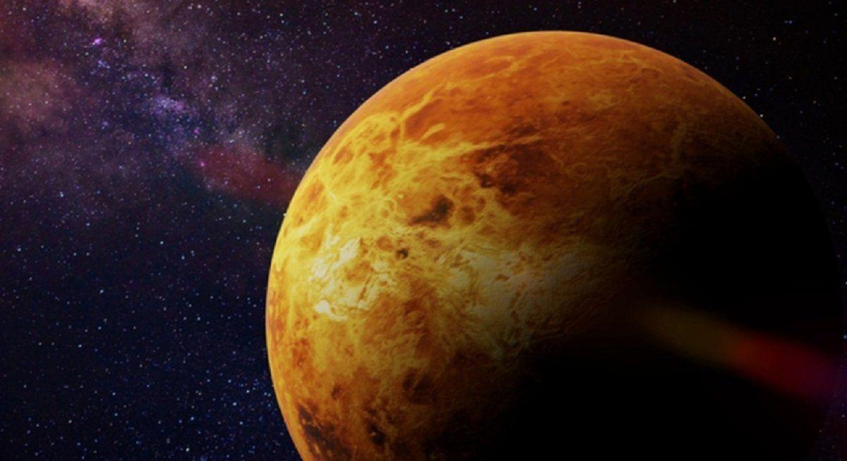 Captan la primera vista completa del anillo de polvo de Venus