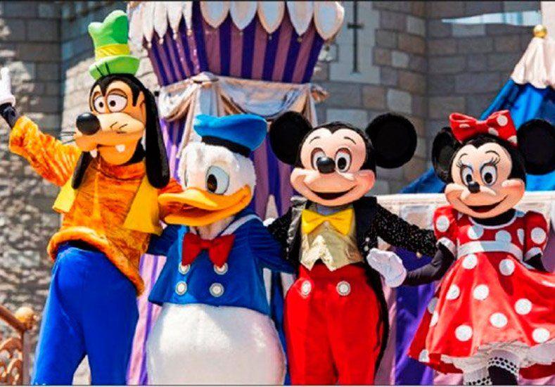 Mickey, Goofy y Donald se rebelaron en una protesta sindical