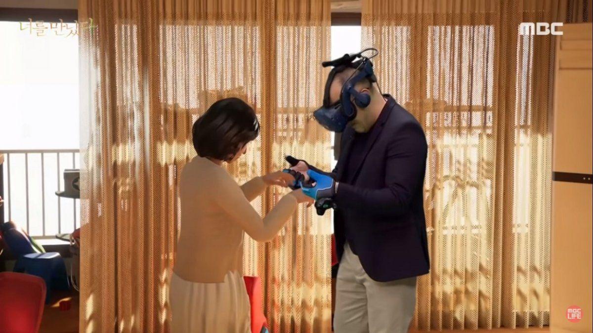 El reencuentro de un hombre con su esposa gracias a la realidad virtual.
