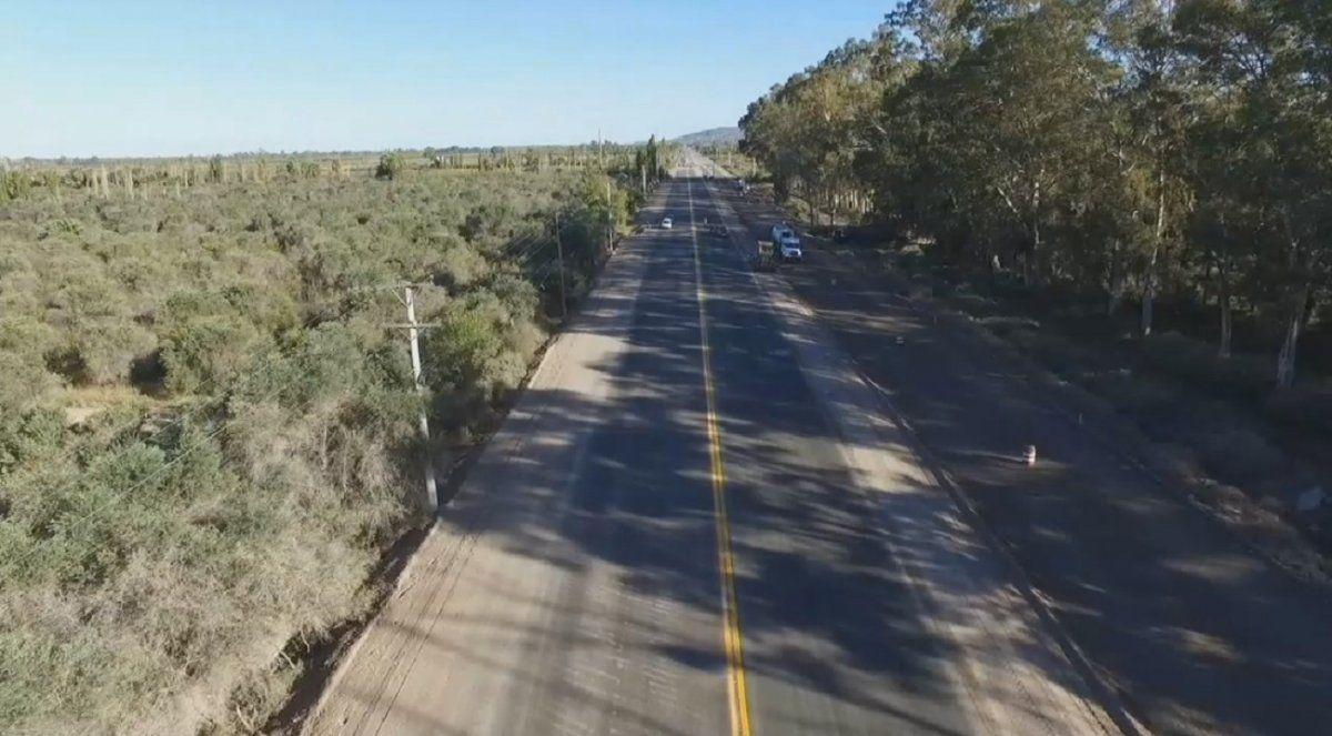 Ruta 40 Sur: Uñac firmó un convenio clave para avanzar en la obra