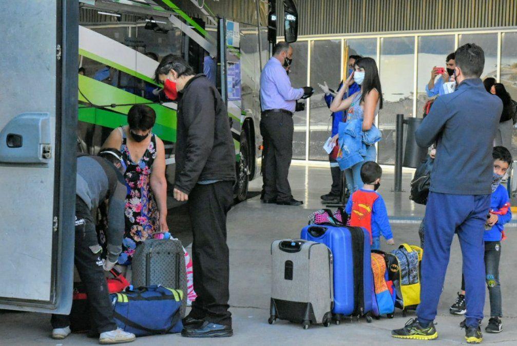 San Juan sumó nuevos destinos al transporte terrestre de larga distancia