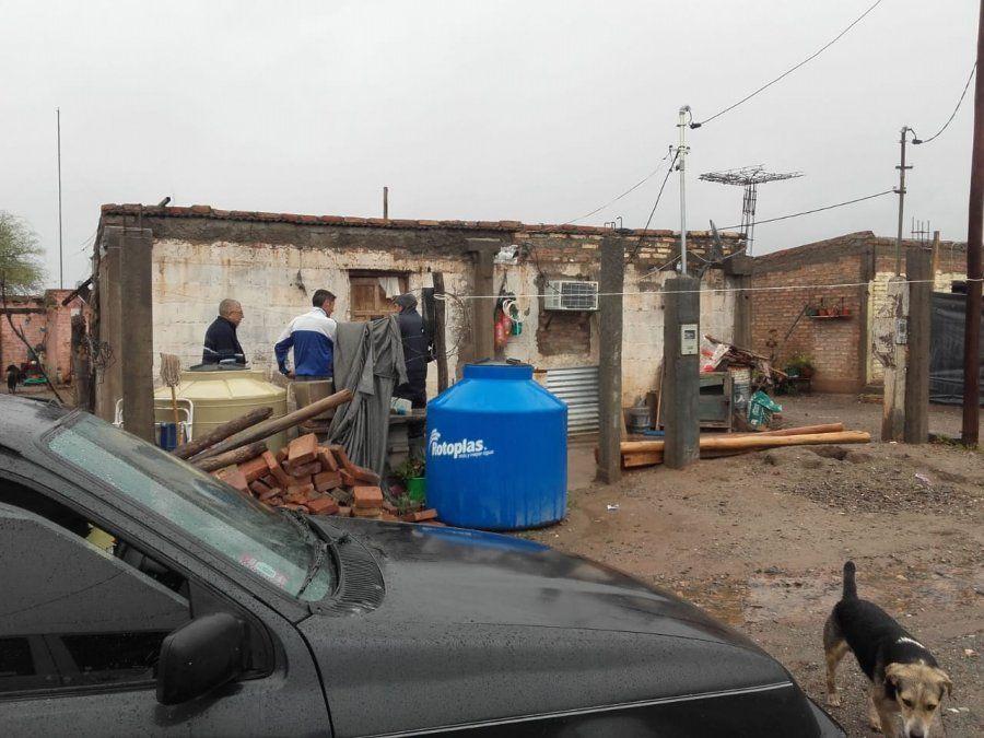 Por la tormenta, los municipios prepararon lugares para evacuación
