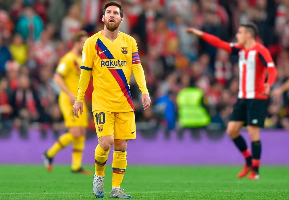 ¡Qué semanita! Barcelona perdió con el Bilbao y también le dijo adiós a la Copa del Rey