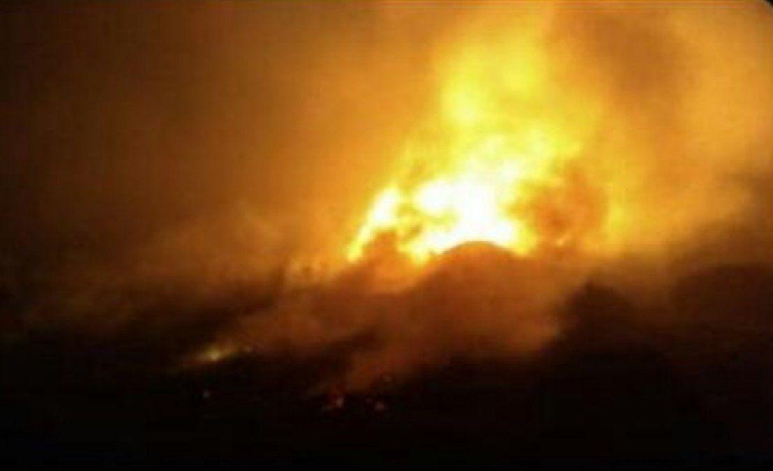 Se estrelló un avión sanitario cuando intentaba aterrizar en el aeropuerto de Esquel