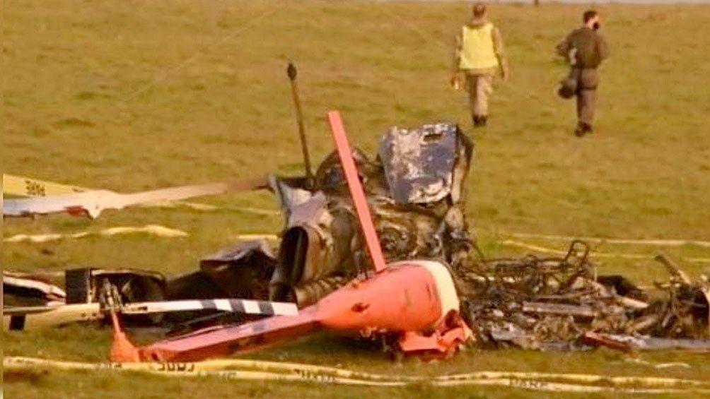 Se estrelló un helicóptero con vacunas y se perdieron las dosis