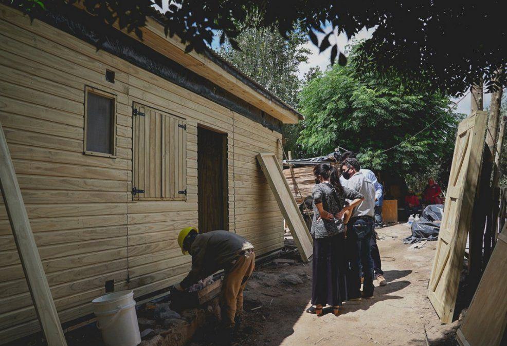 Comenzaron a habitar las casas donadas por Misiones